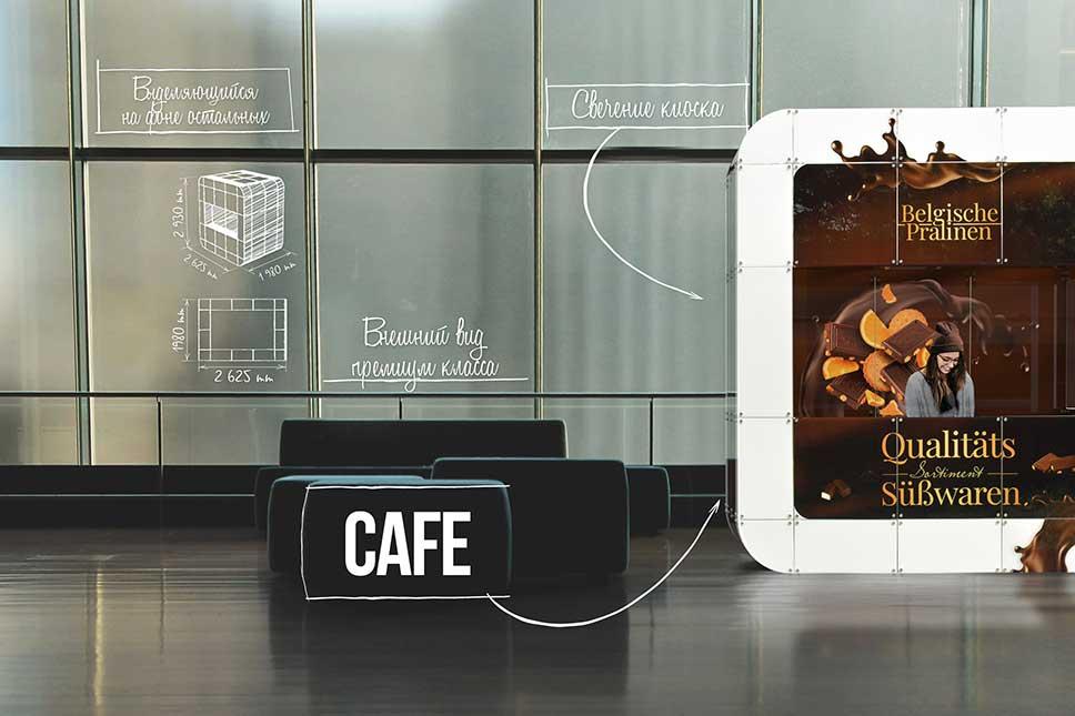 customized kiosk