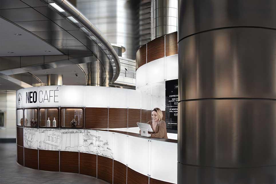 customizable design cafe