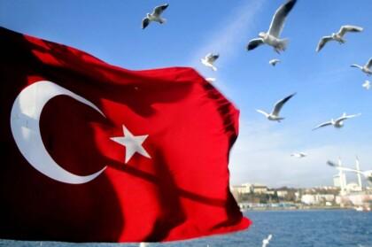 Turkey exhibition flag