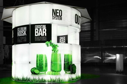 kiosk in any kind of business environment,